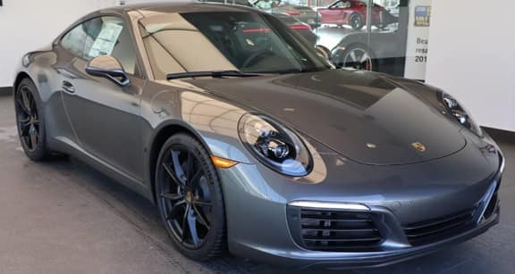 2019 911 Carrera Lease - $1,550 per Month for 24 Months