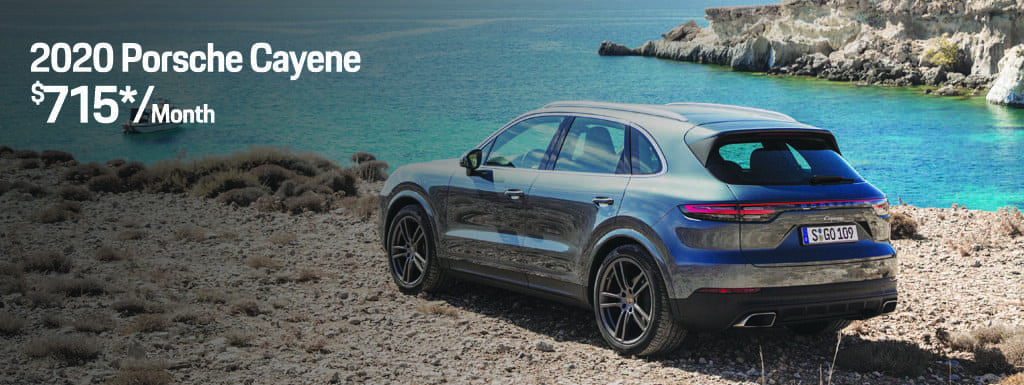 2020 Porsche Cayenne - $715 per Month for 36 Months - $9,447 Due at Signing