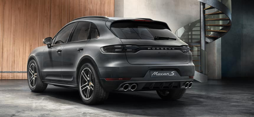 New 2020 Porsche Macan S Lease - $597 per month for 36 months