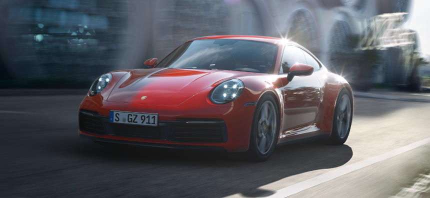 2020 Porsche 911 Lease - $1,152 per month for 36 months