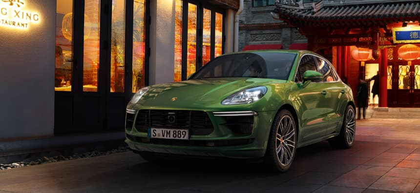 New 2020 Porsche Macan Turbo - $899 per month for 36 months