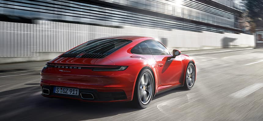 New 2021 Porsche 911 Carrera Lease - $1,149 per month for 36 months