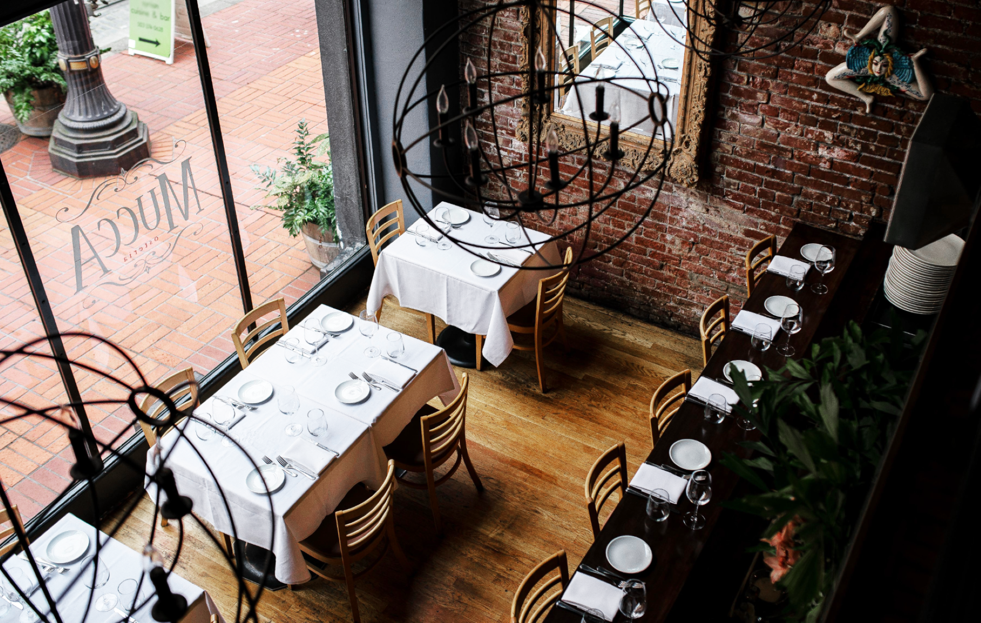 Mucca Osteria Dining Room