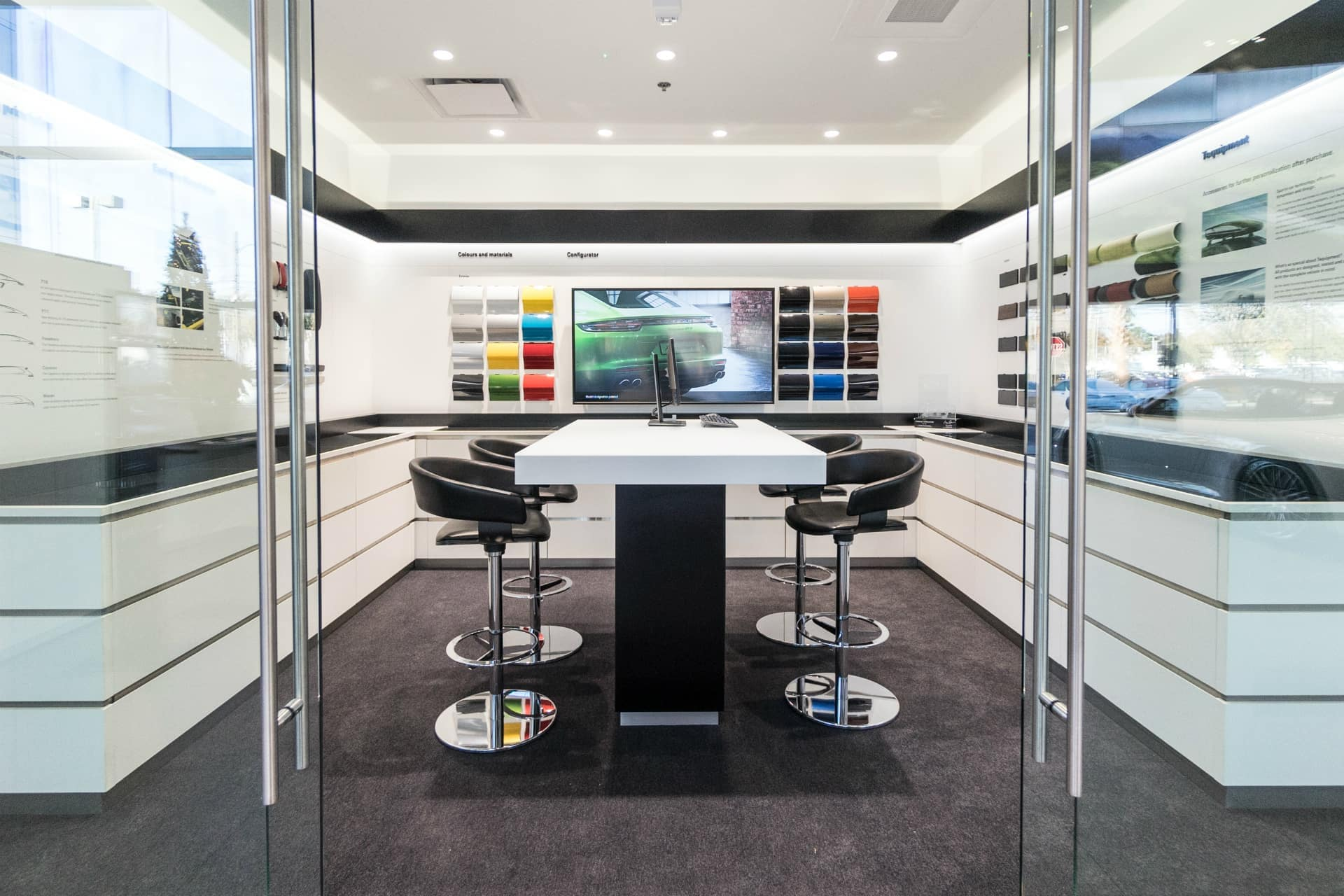 Customize Your Porsche in Our Exclusive Fitting Lounge
