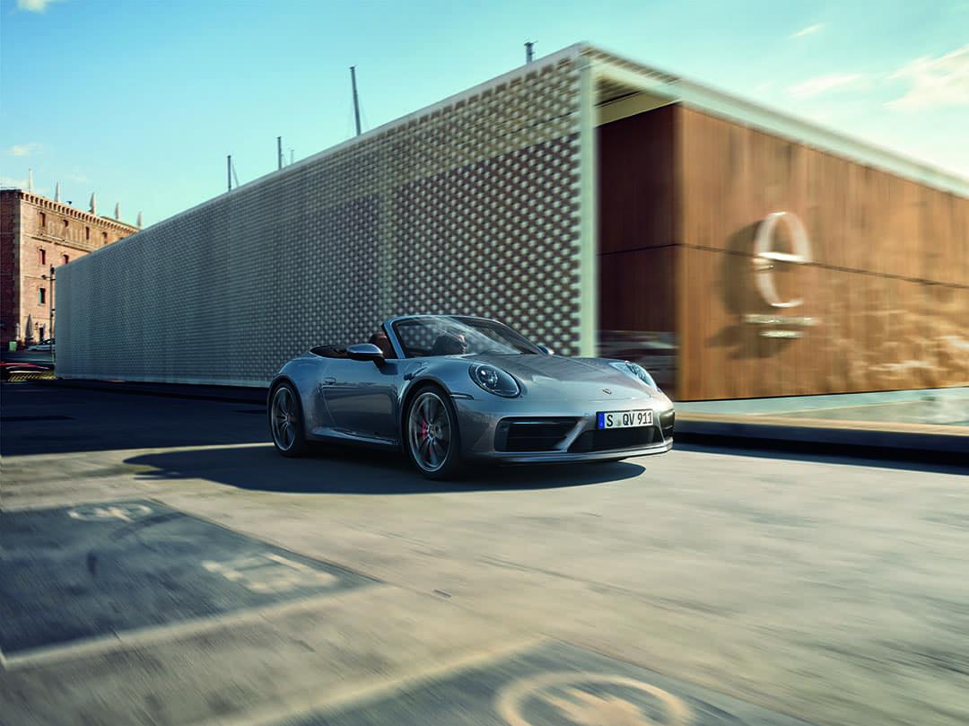 2020 Porsche 911 Carrera S Cabriolet with SportDesign Package