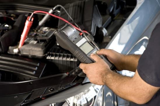 Perform a Car Battery Test | Porsche Downtown LA