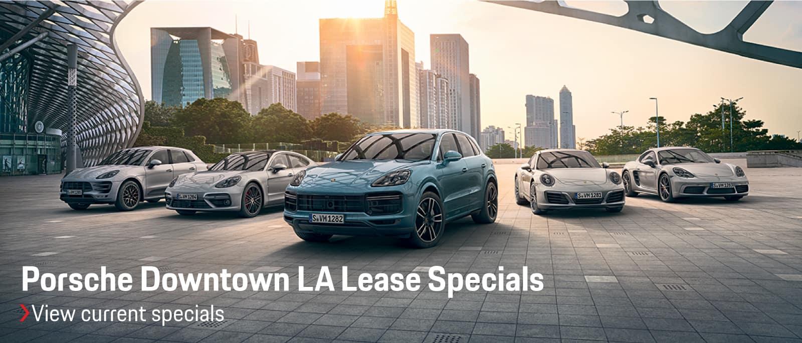 Porsche Downtown LA | Porsche Dealer in Los Angeles, CA