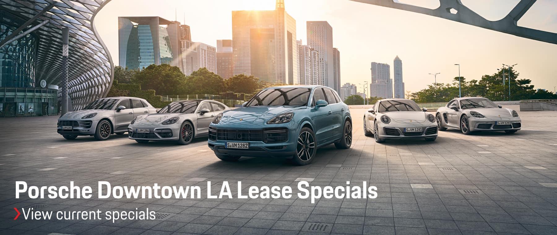 Porsche April Specials