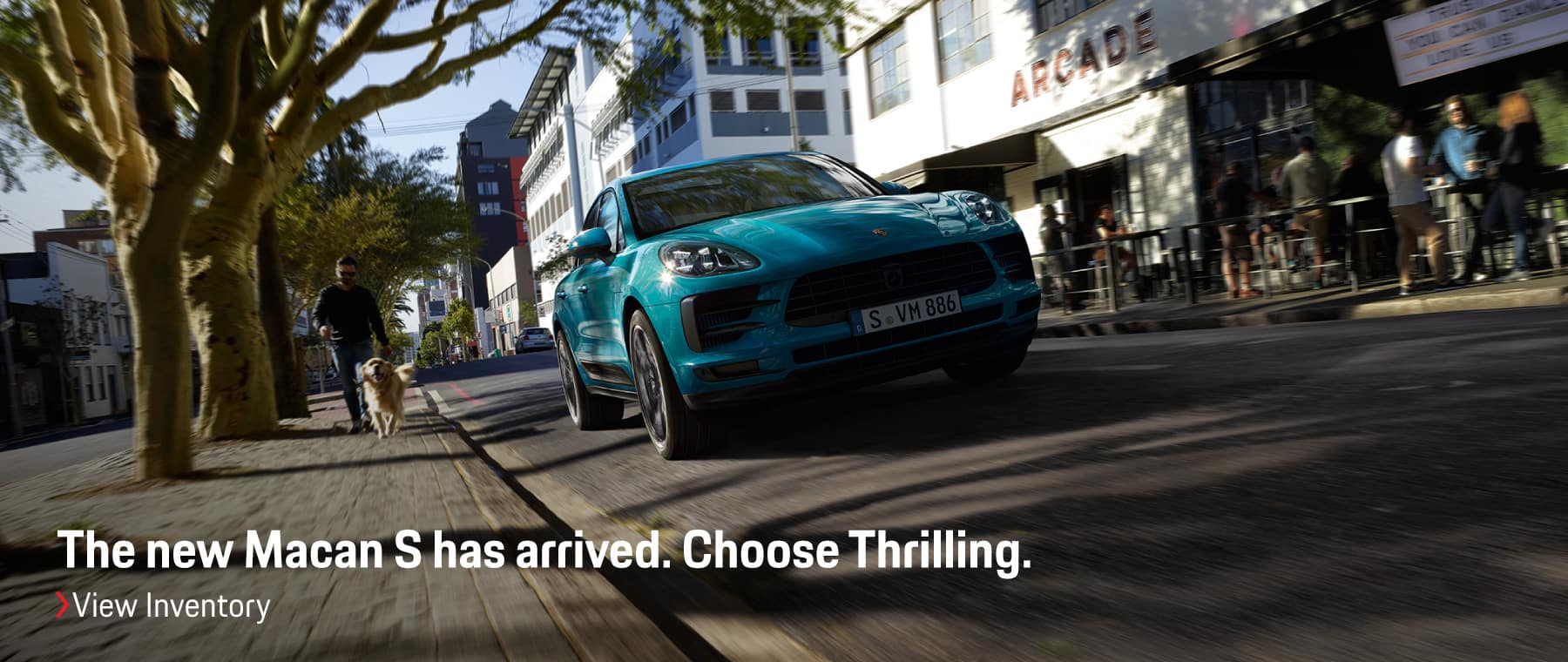 Macan S has arrived