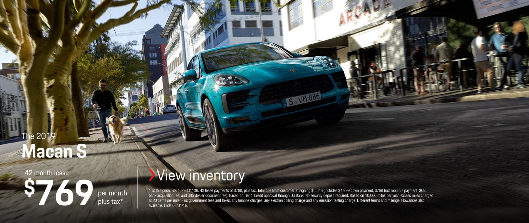 2019 Macan S Lease 769 / 42 months