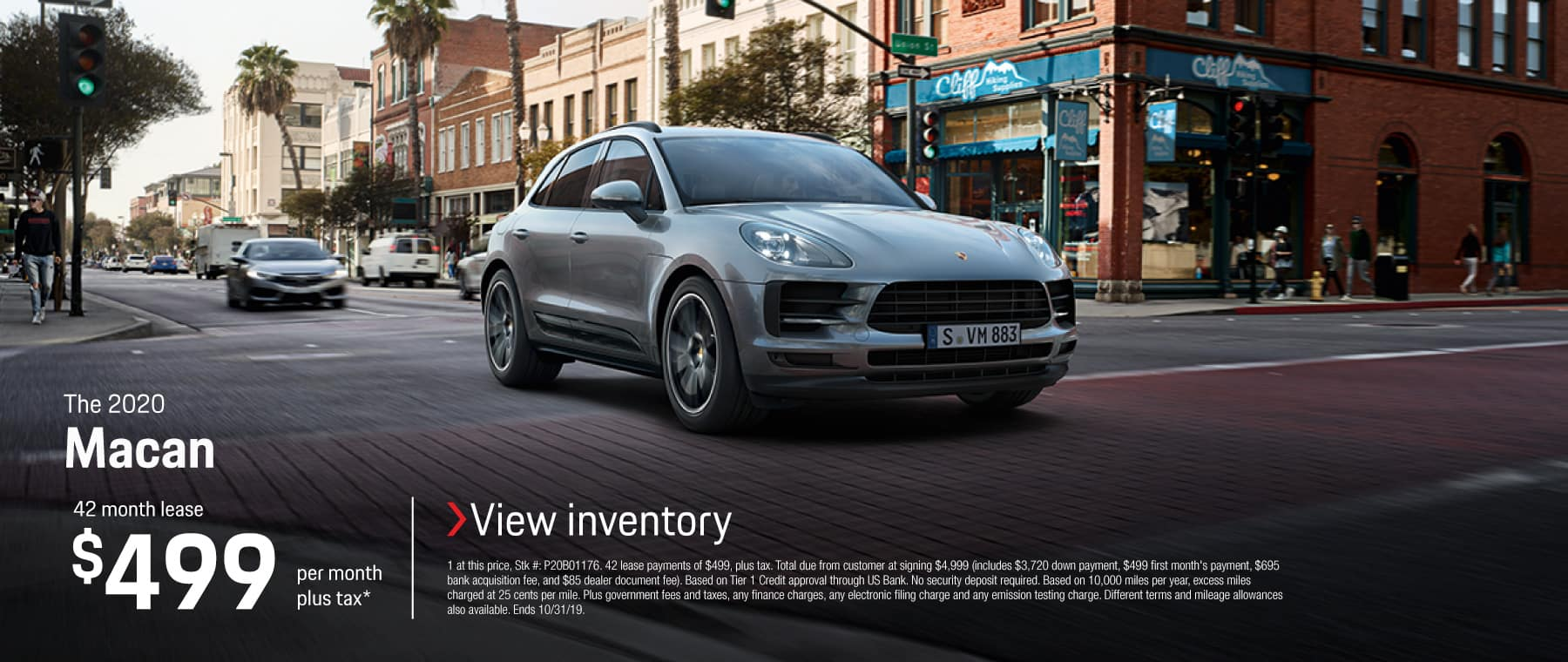 2020 MACAN LEASE 499 / 42 MONTHS