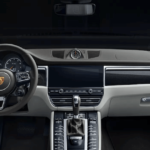 2020 Porsche Macan interior dashboard and steering wheel