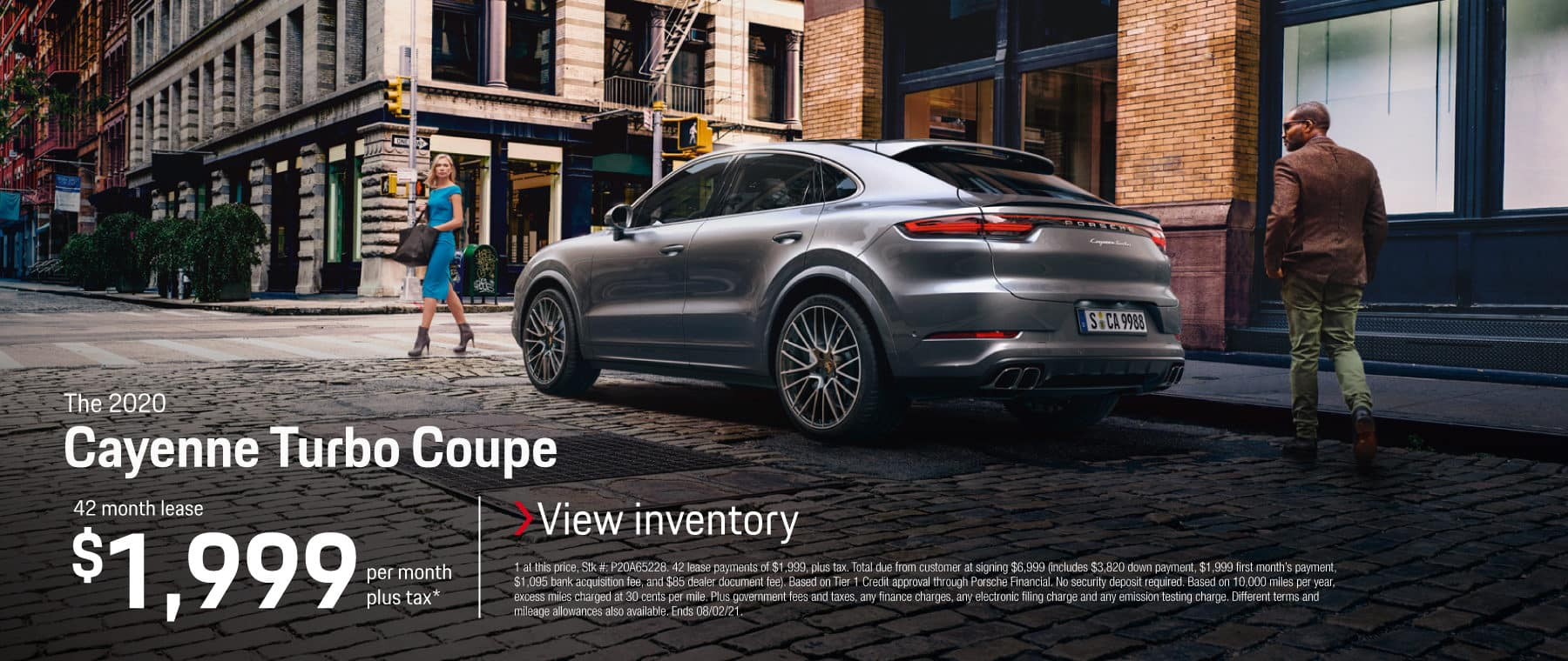 2020 Cayenne Turbo Coupe