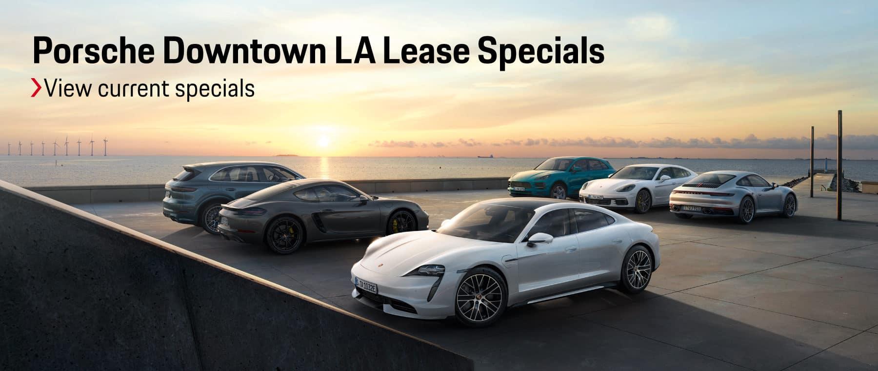 Porsche Downtown LA Lease Specials