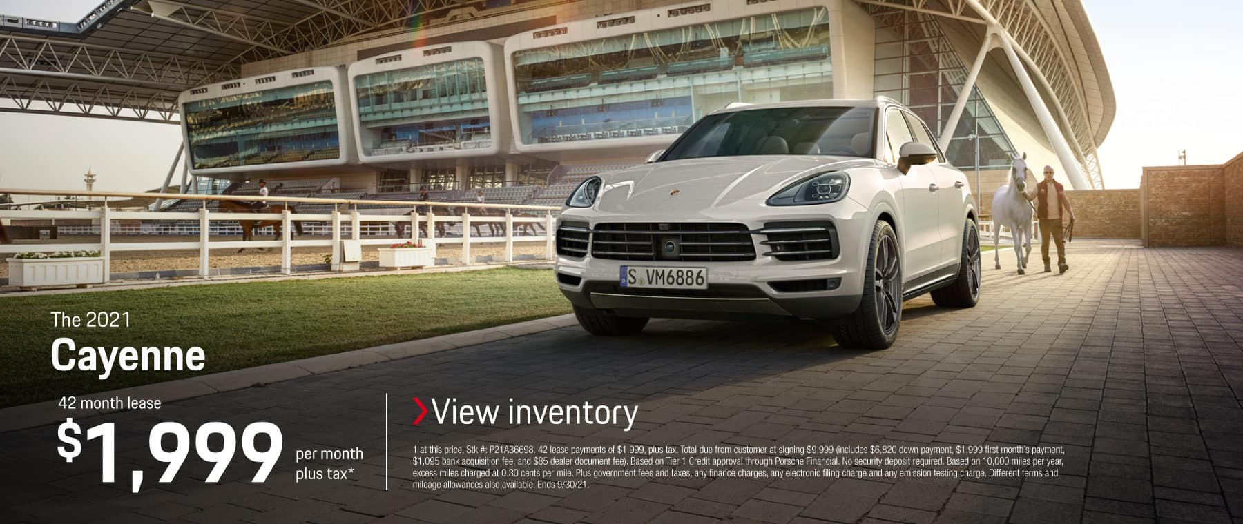 The 2021 Cayenne Lease