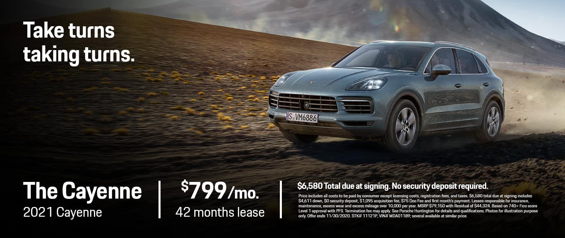 Porsche-Huntington 1800 x 760 November 20202 Cayenne