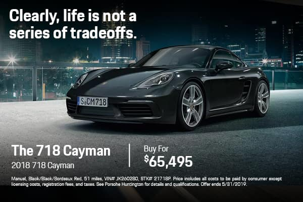 Pre-Owned 2018 Porsche 718 Cayman