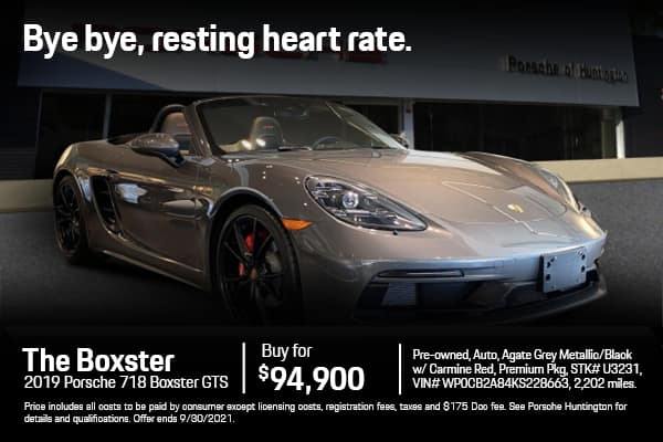 2019 Boxster GTS