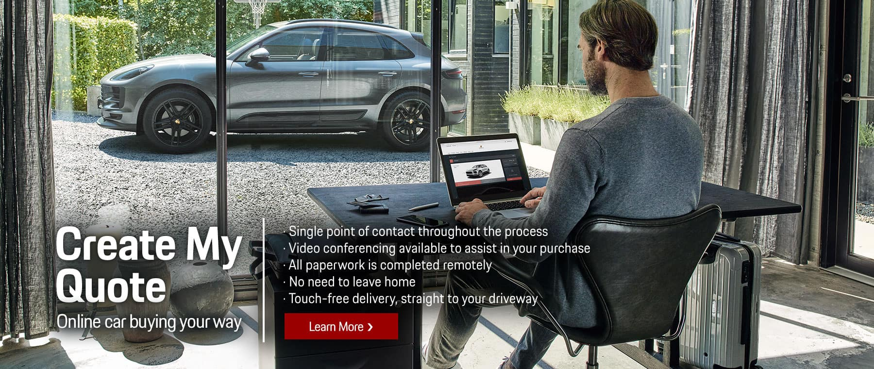 Online Car Buying Your Way at Porsche Livermore, CA