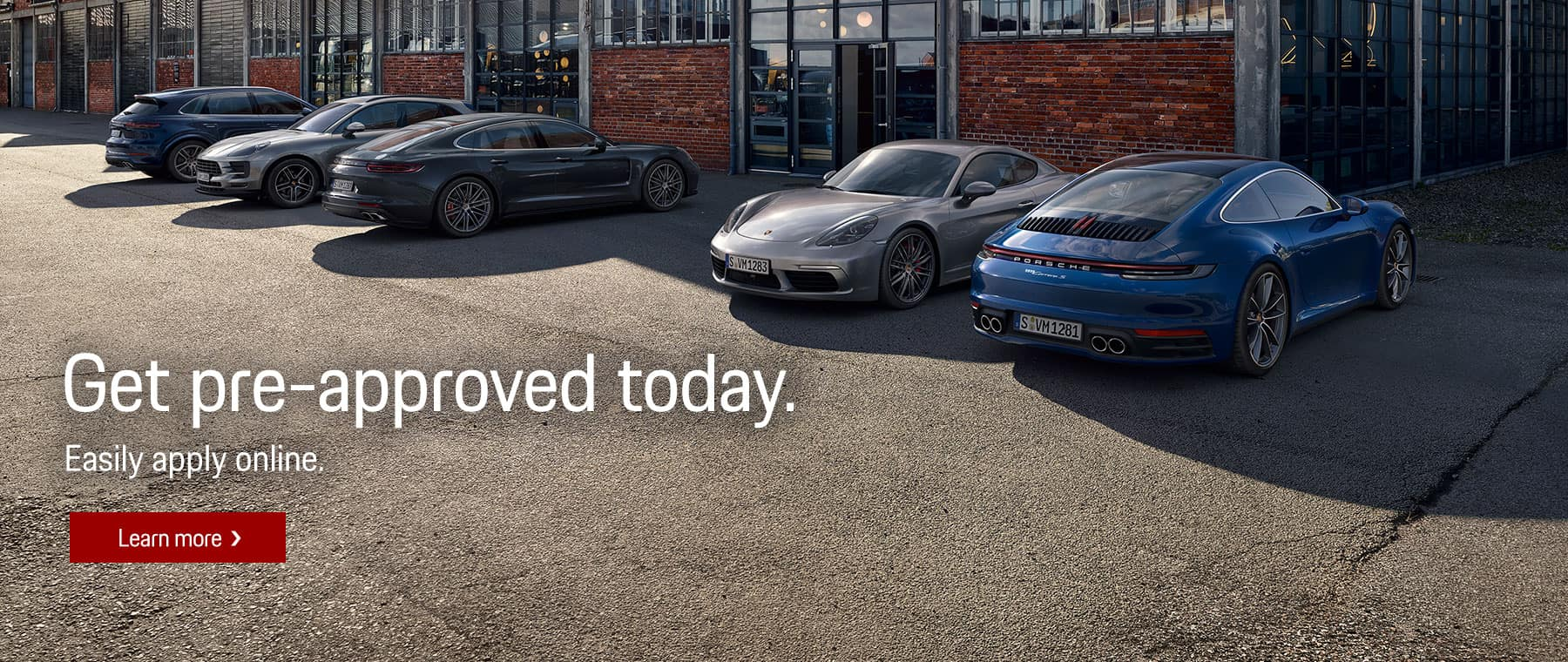 Get Pre Approved Financing at Livermore Porsche
