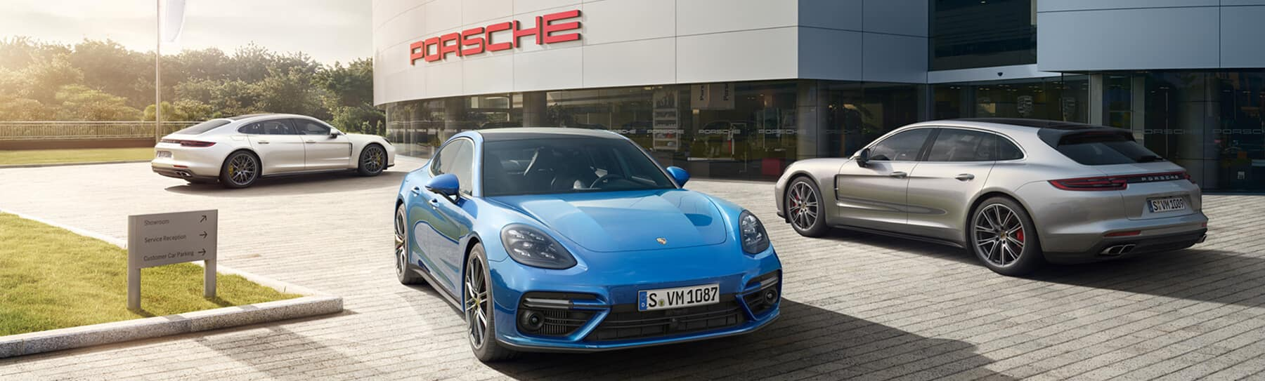 The New Panamera Banner Image