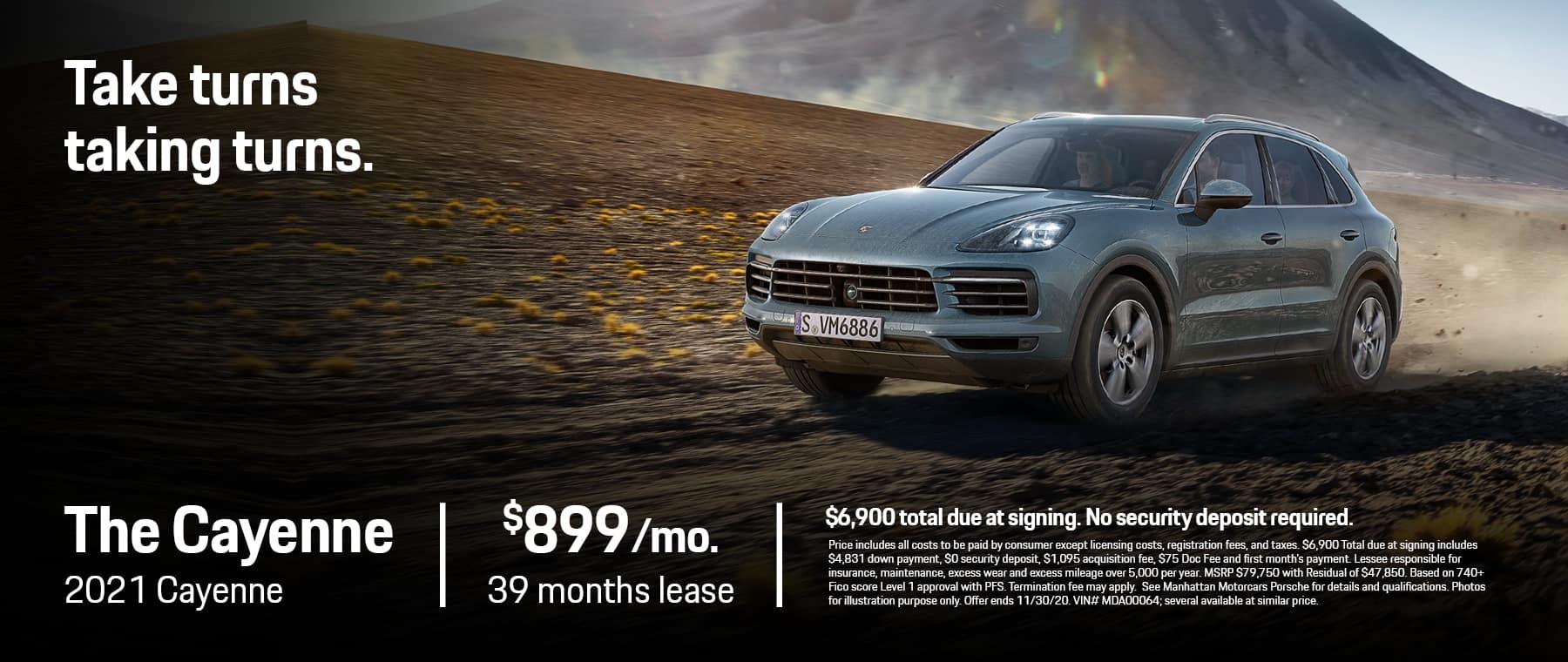 MMC Porsche 1800×760 NOV 2020 Cayenne