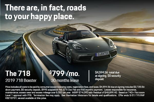 2019 718 Boxster