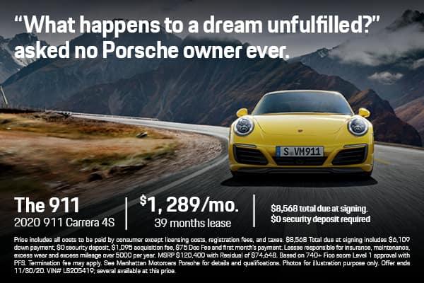 2020 911 Carrera 4S