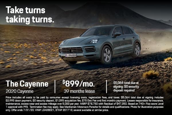 2020 Cayenne