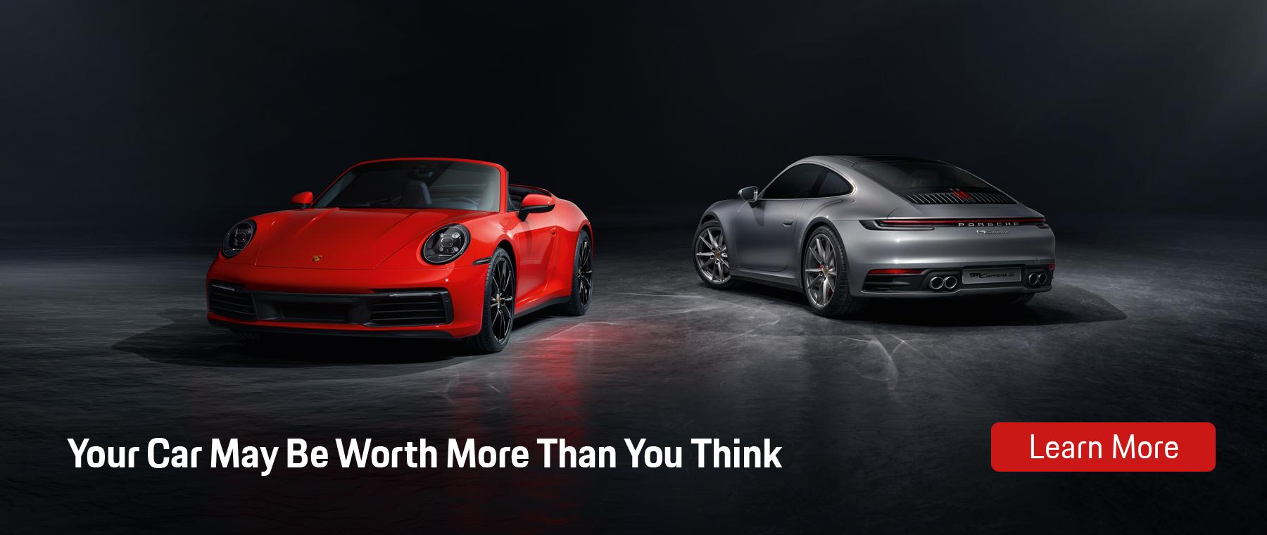 Car Worth Homepage Banner