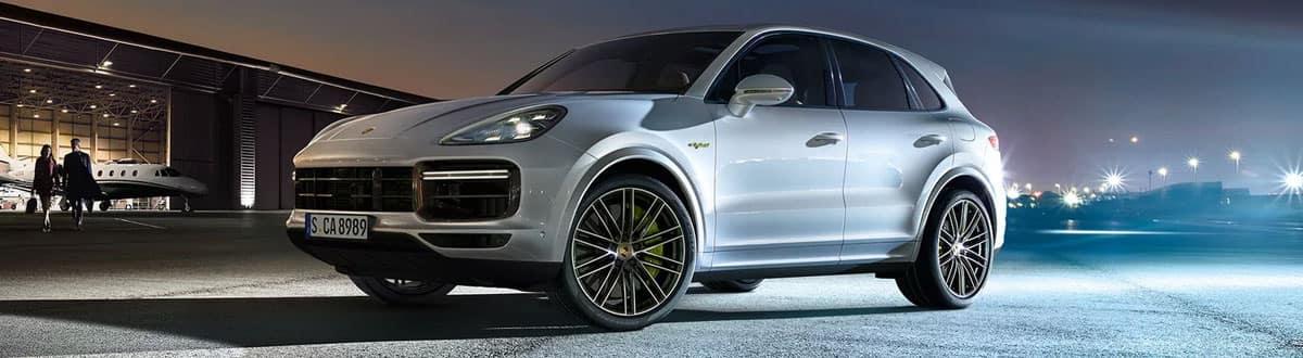 Silver 2020 Porsche Cayenne