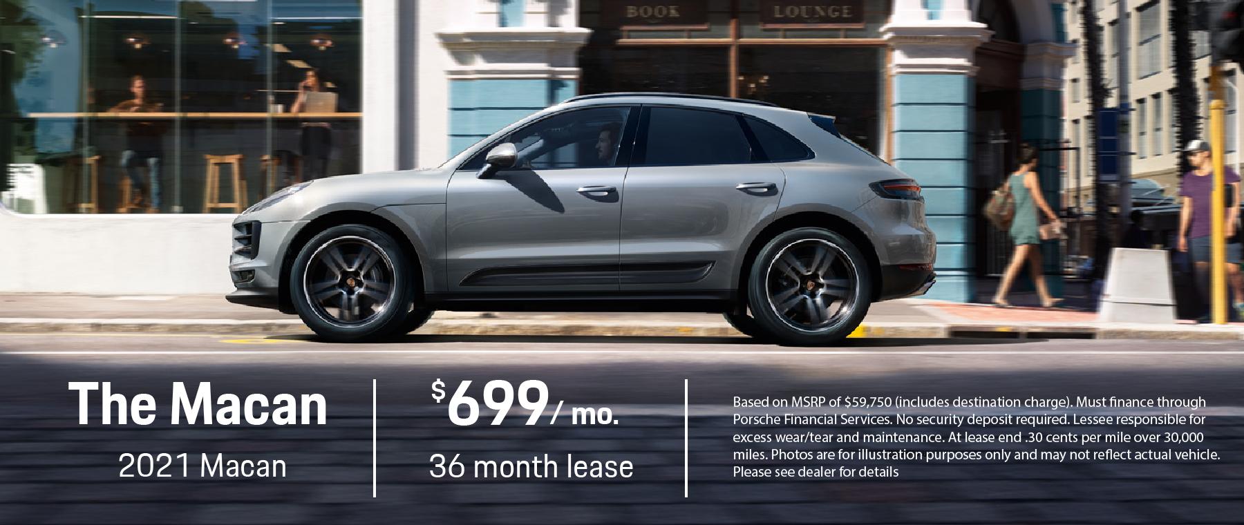 2021 Porsche Macan offer
