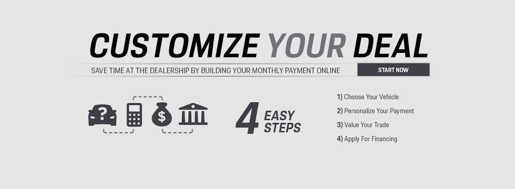 Calculator your Custom Payment with our Accelerator tool