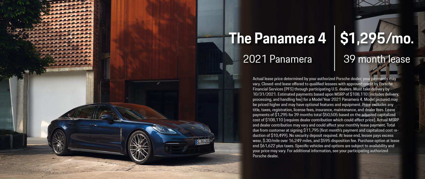 2021 Panamera 4