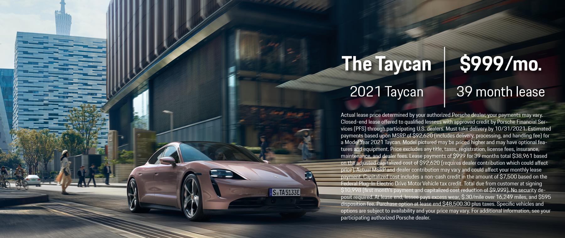 2021 Taycan