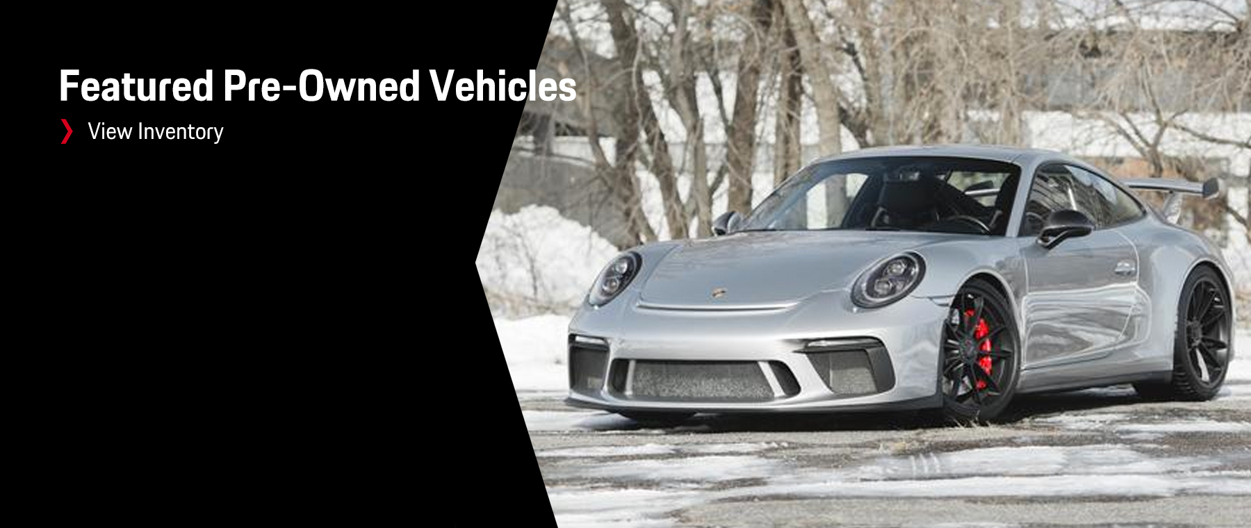 Porsche Featured Vehicles