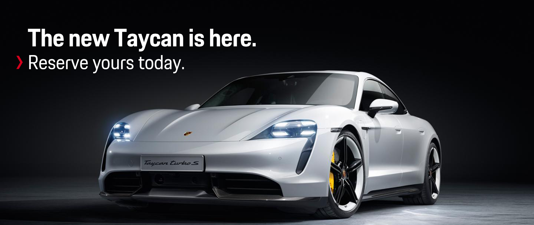 Reserve the new Porsche Taycan