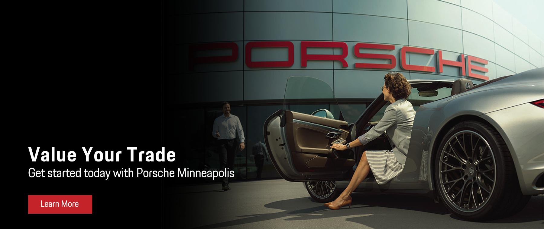 Value Your Trade at Porsche Minneapolis