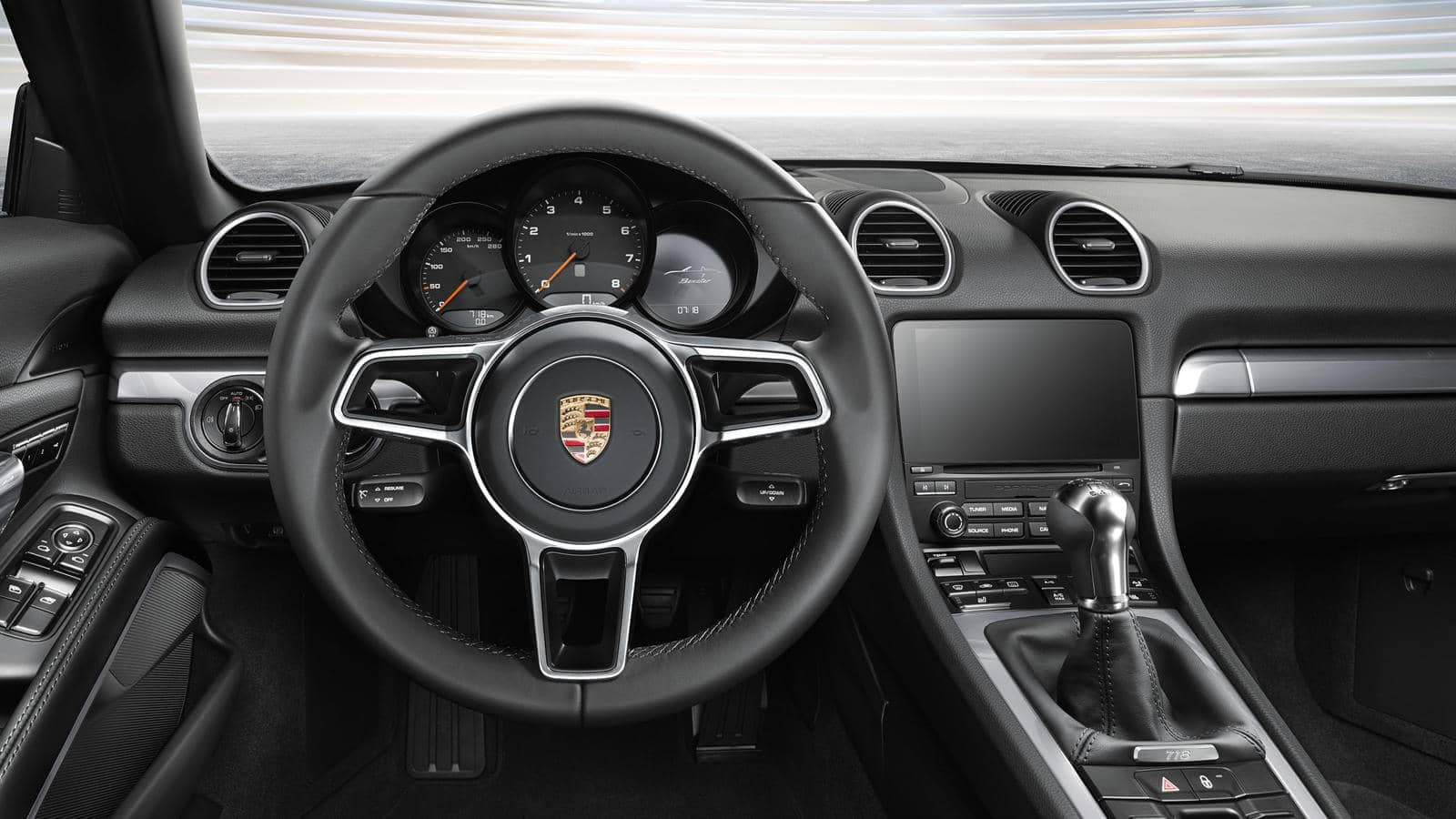 2018 Porsche 718 Boxster steering wheel