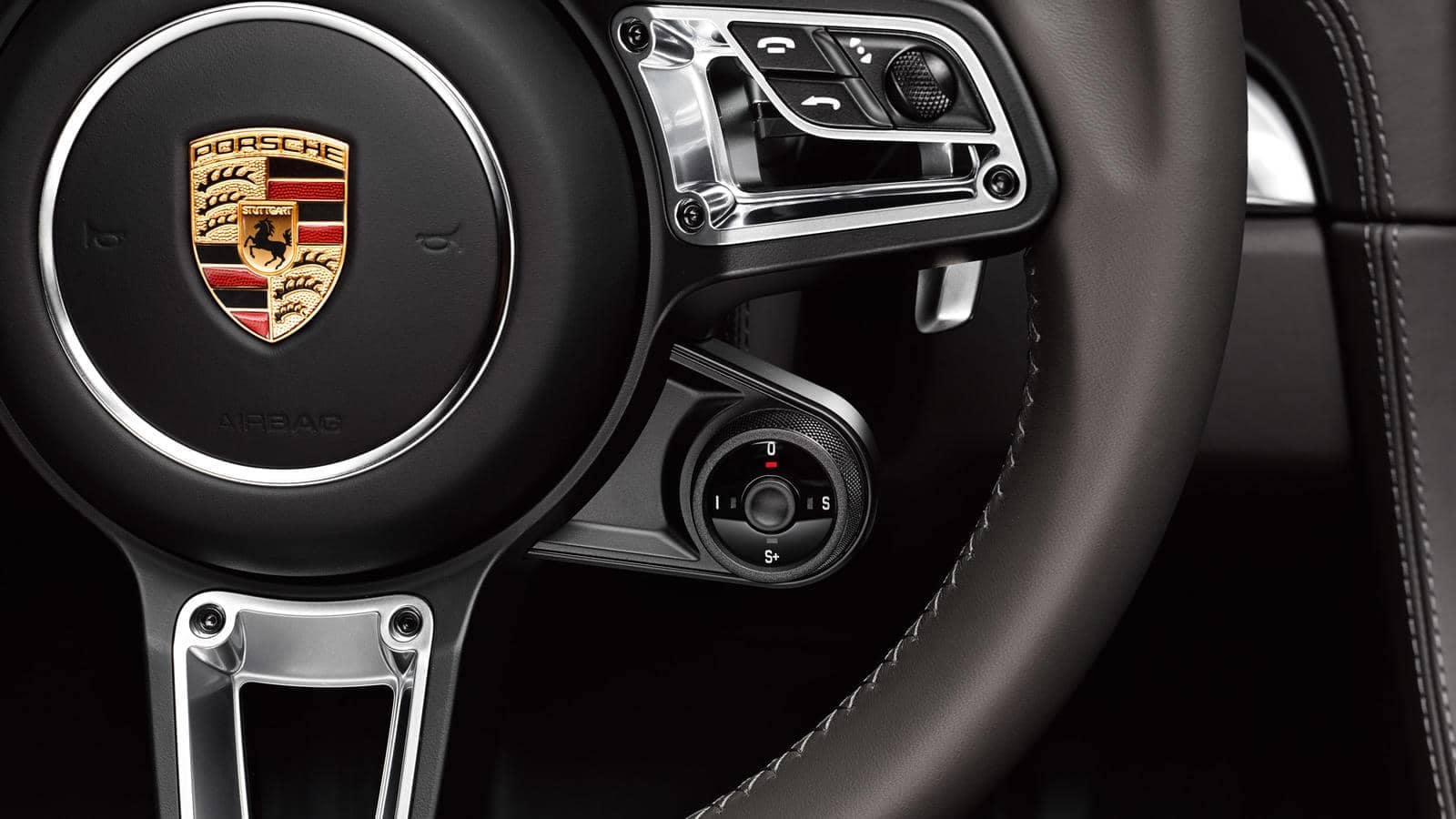 2018 Porsche 718 Cayman Steering wheel