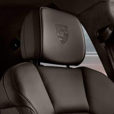 2018 Porsche Macan leather headrest