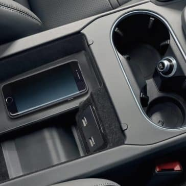 2019 Porsche Cayenne Cup Holders and Center Console with Phone Charging