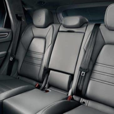 2019 Porsche Cayenne Interior Rear Seating