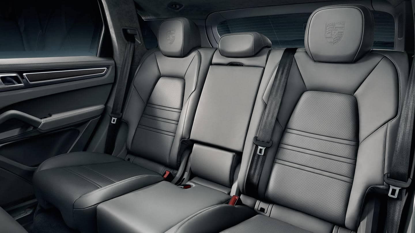 2019 Porsche Cayenne Interior Rear Seating