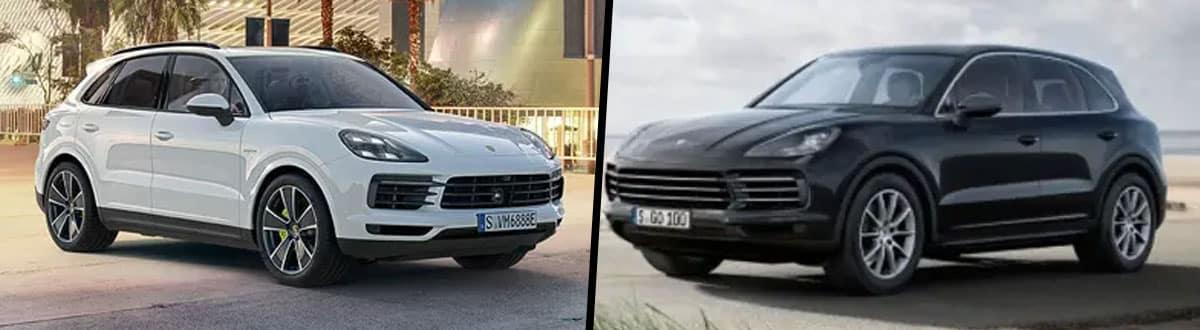 Compare 2019 Porsche Cayenne vs Cayenne S