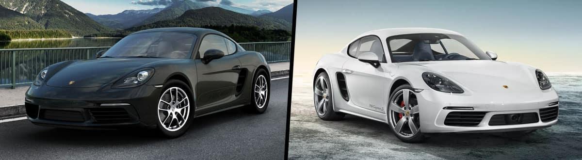 2019 Porsche Cayman vs 2019 Porsche Cayman S