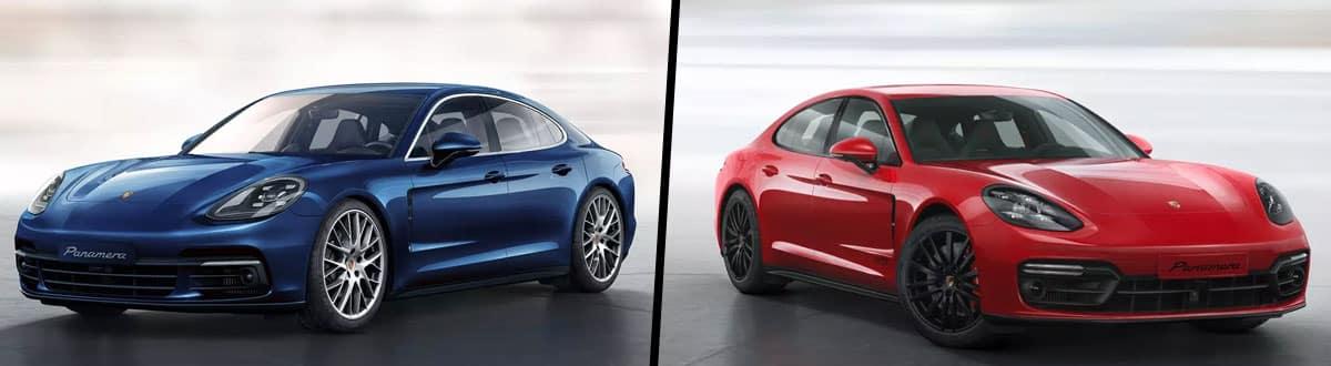 2019 Porsche Panamera vs 2019 Porsche Panamera GTS