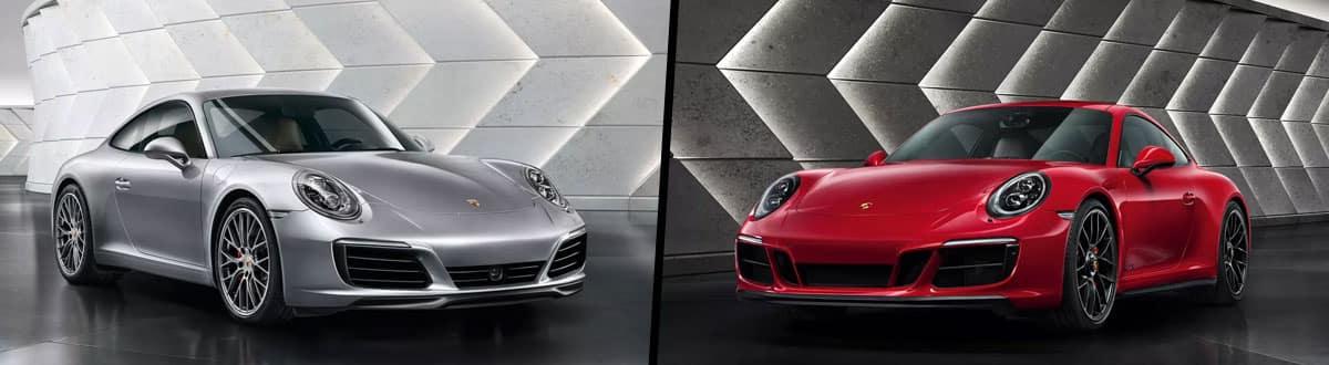 2019 Porsche 911 Carrera vs 2019 Porsche 911 GTS