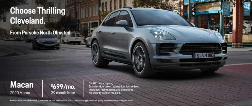 2020 Macan Lease