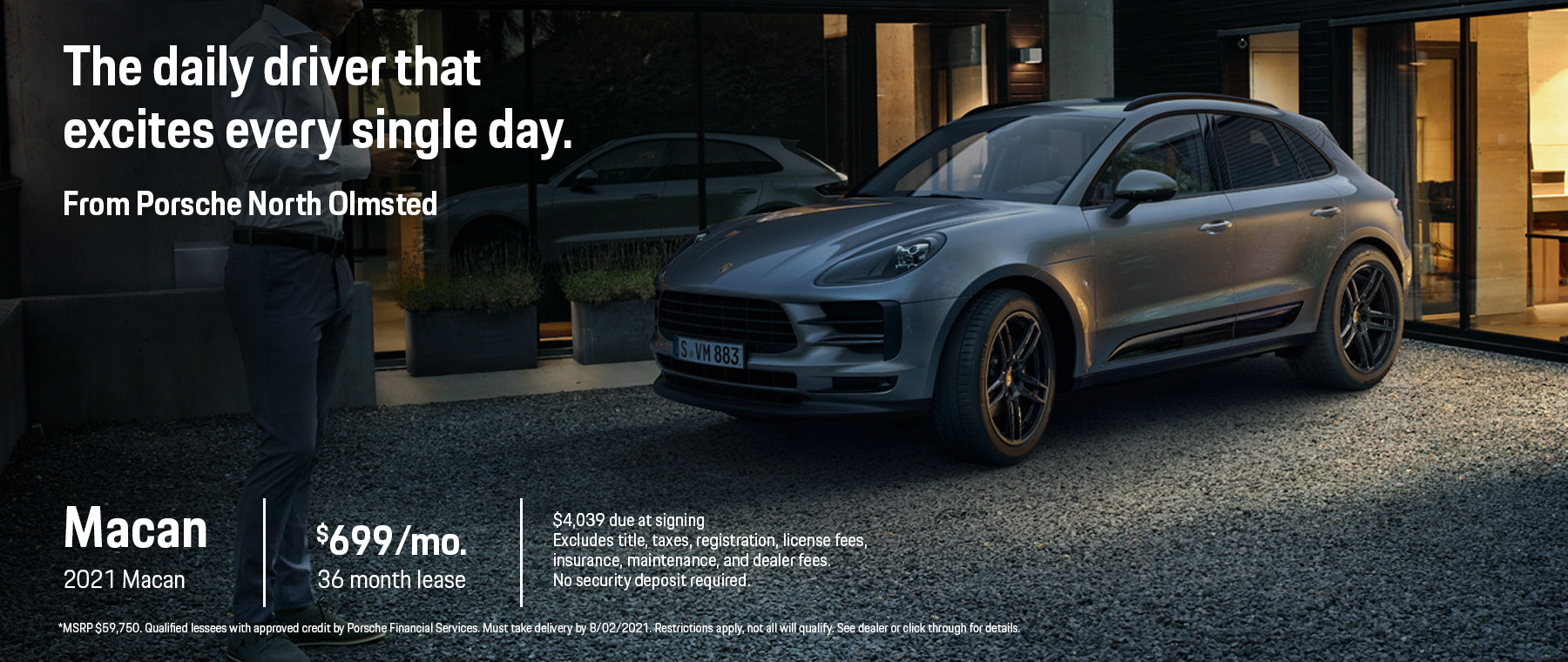 2021 Macan Lease Offer